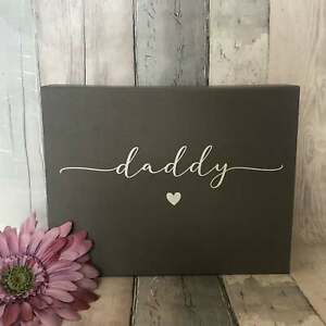 Luxury Personalised Magnetic Special Gift Box with Daddy, Dad, Grandad. Grandpa