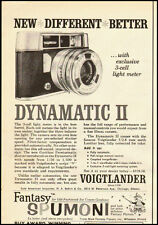 1960 Vintage ad for DYNAMATIC II 35mm Camera/VOIGTLANDER (022513)
