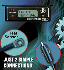 ENGINE WATCHDOG THERMO FAN CONTROLLER WITH RELAY KIT & WARNING ALARM