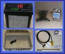 Professional Ramp Soak Temperature Controller Kiln Ssr Abs Box Ceramic Sensor F