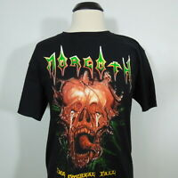 MORGOTH The Eternal Fall T-Shirt Black Men's size M (NEW)