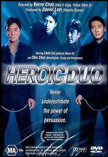 HEROIC DUO (Leon LAI Ekin CHEN) Crime THRILLER Hong Kong Film DVD NEW Region 4