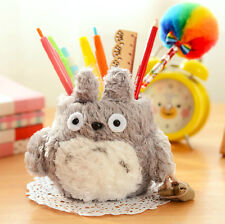 1PC Anime Cartoon My Neighbor Totoro Plush Pencil Vase Brush Pen Holder Best