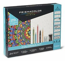 Prismacolor Complete Toolkit with Colored Pencils and 8 Page Coloring Book