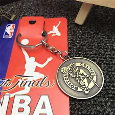 BASKETBALL NBA Boston Celtics Logo Retro Souvenir Copper steel Keychain KeyRing