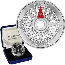 "5 EURO Lettland(Latvia,Lettonie) 2014 Silber Munze ""Seefahrtsschule Ainazi """