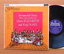 SXA 4007 Court Of Queen Elizabeth King James New York Pro Music Brunswick STEREO