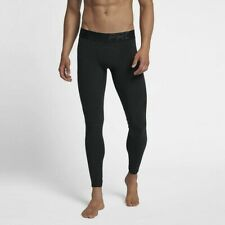 Nike Pro Power Premium Woven Tights Training Black 928996 Large