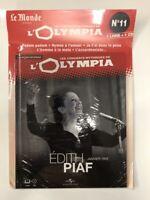 edith piaf concerts mythiques de l'olympia 1955 1 cd + 1 livre neuf sous blister