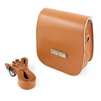 Br PU Leather Case Bag For Fuji Instax Mini7S Instant Camera Polaroid 300+Buckle