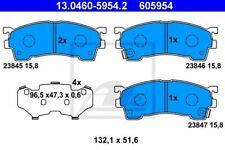 Kit de plaquettes de frein FORD USA PROBE II (ECP) PROBE Mk II (ECP), MAZDA 323