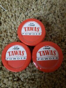 (3) 7 DWARFS TAWAS POWDER OR ALUM POWDER UNSCENTED 50g each
