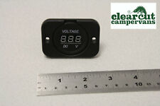 12v Digital Voltmeter for Leisure Battery, Boat,Yacht,Chandlery and Marine