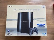 Sony PS3 80gb Empty Box