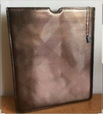 Burberry Beauty Rose Gold Haymarket Check Patterned iPad 3 & 4 Case NEW