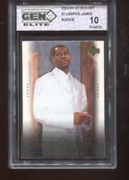 Lebron James RC 2003-04 Upper Deck Box Set #7 Rookie GEM Elite 10 Pristine