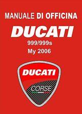 Manuale di Officina DUCATI 999/999S ANNO 2006 INTROVABILE !!!