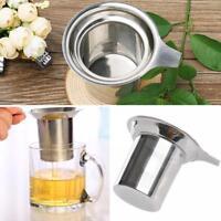 Neustes Edelstahl Netz Tee-Ei Sieb Loser Tee Blatt Filter Sieb Metall Tasse