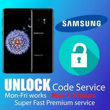 SAMSUNG UNLOCK CODE S10 S9 S8 S7 S6,Edge NOTE 10,9,8,5,4,3  EE O2 Vodafone 3 UK