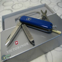 【v062232】Victorinox Swiss Army Knife 58mm Classic Blue 7 Function PocketTool