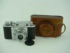 Minolta 35 Model B Camera #4711 w/ 45/2.8 Super Rokkor w/Katakana CPO Mark -Rare