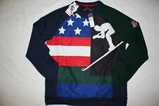 b47d7311c Polo Ralph Lauren Cookie Patch Suicide Ski Sweatshirt Mens M Hi-tech Cp92 92
