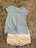 Copper Key Girls Outfit Shorts Size 10 & M top