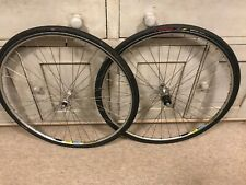 Shimano Dura-Ace 7403 Mavic Ceramic Road Bike Wheelset 8/9/10 Speed