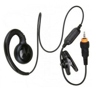 Genuine Motorola HKLN4437 CLP107 Short Cord Swivel Earpiece (Wear CLP On Chest)