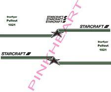 Starcraft pop up kit starflyer sticker decal graphics trailer camper rv 1021