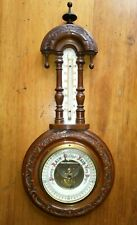 More details for antique/vintage atco barometer & thermometer - working, very good condition