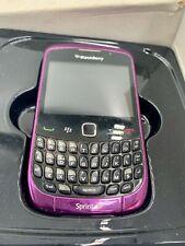 Purple BlackBerry Curve 9330 Smartphone Phone in Original Box + Extras!