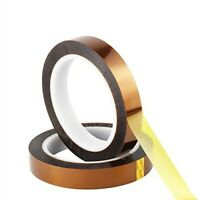 15 rolls of 25mm x 36Yds (Kapton) Polyimide Heat Resistant Tape By Saint Gobain
