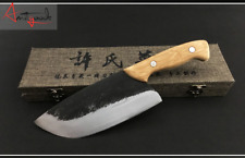Kitchen knife hand-forged traditional kitchen knife household slice meat cleaver