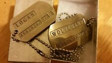 Wolverine Prop Replica Dog Tags Exclusivley from BAM BOX
