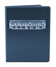 Ultra Pro 9 Pocket Blue Collectors Album Portfolio Folder 10 Pages 180 Cards