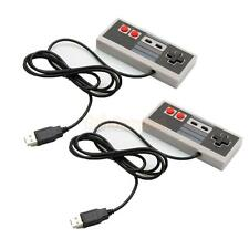 2X Classic Wired USB Game Controller Gamepad for Nintendo NES PC Windows & Mac