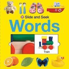 Words (Slide and Seek) - Good Book Roger Priddy