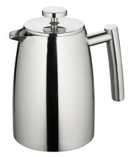 Avanti Modena Twin Wall Coffee Plunger 1ltr Stainless Steel 8 Cup French