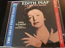 EDITH PIAF La Vie En Rose LIVING ERA ORIGINAL MONO Recordings 1935-1947 (CD)