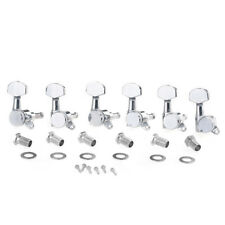 Musiclily Pro Chrome 6 Inline Sealed Locking Machine Heads Tuning Peg Right Hand