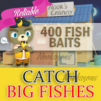 400 FISH BAITS 🐟 ACNH 🐟 Animal Crossing:New Horizon🐟 NEW HORIZONS 🐟 GOLD ROD
