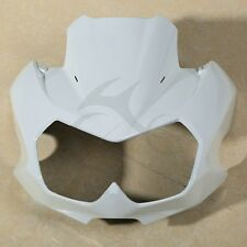 White Upper Front Fairing Cockpit Mask For Kawasaki Z750N 2004-2006 2005 New
