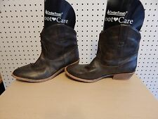 Womens Candie's western ankle boots - Pasko brown - size 8.5