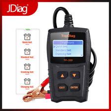 12V Car Battery Load Quick Tester Bad Cell Test Tool For Most Brands JDiag TP200