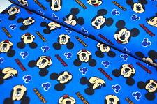 DISNEY Mickey Mouse USA TESSUTO DESIGN 0,5 m mouse FUMETTI mouse VOLTI