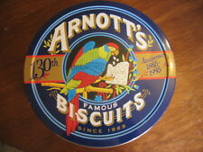 VINTAGE COLLECTORS ARNOTT'S PARROT BISCUIT TIN 130TH ANNIVERSARY 1865 - 1995