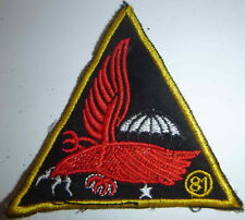 PATCH - 81st RANGERS Airborne - ELITE ARVN TIGER PARATROOPERS - Vietnam War - L