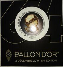 France 2019 Collector Timbre Ballon D'or 2019 ROND NEUF