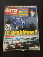 MAGAZINE AUTO HEBDO N°1133 22/04/1998 PROST GP F1 BMW 328I AUDI A4 HOCKENHEIM